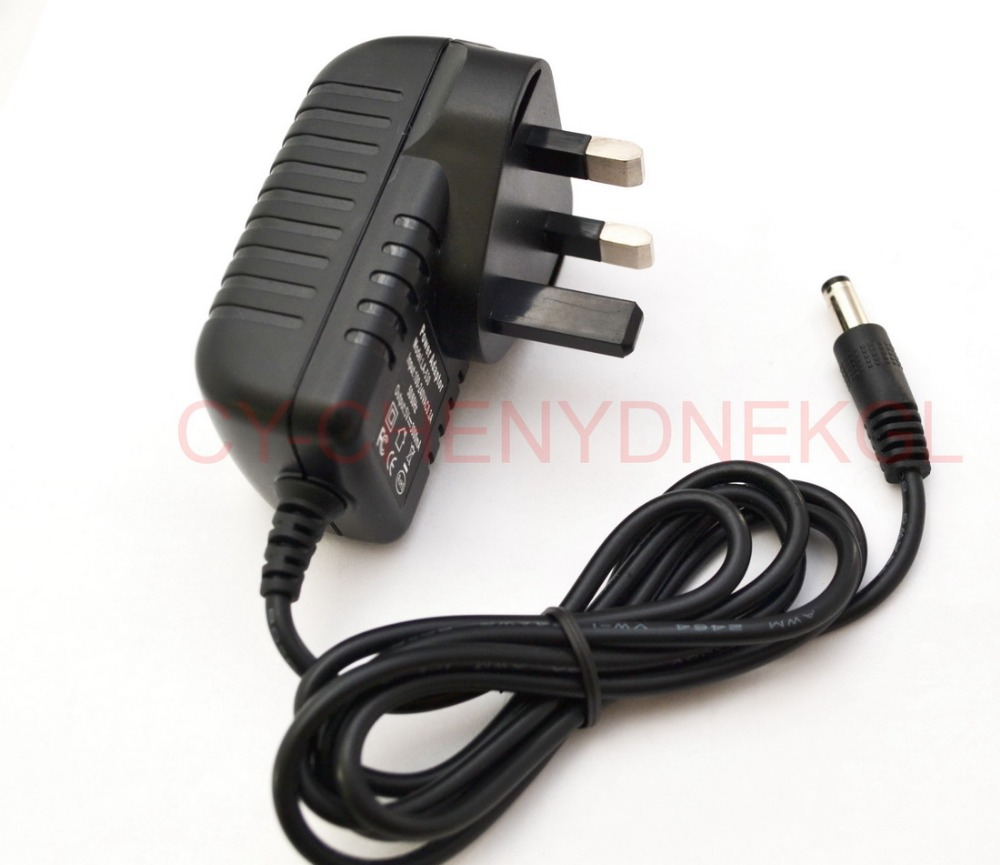 UK Plug 3V-24V 1-3A AC//DC Power Supply Adapter Charger 2.5mm x 5.5mm NEW