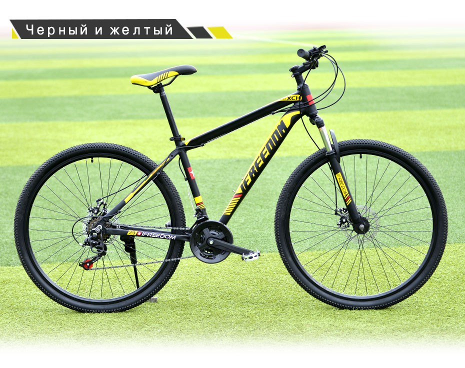 HTB1DH9NtkyWBuNjy0Fpq6yssXXaR Love Freedom 21/24 Speed Aluminum Alloy Bicycle  29 Inch Mountain Bike Variable Speed Dual Disc Brakes Bike Free Deliver
