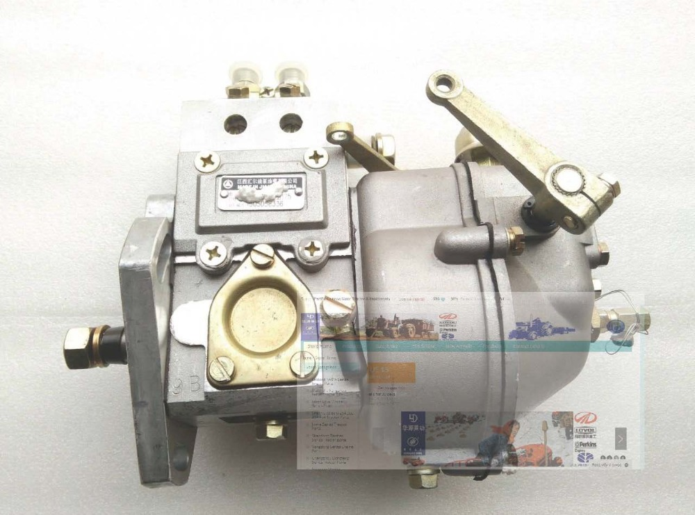 Fengshou FS180 FS184 FS204, the high pressure fuel pump for engine J285T china yituo engine with high pressure fuel pump bh3w9540 the set of nozzles plungers and delivery valves for one engine use