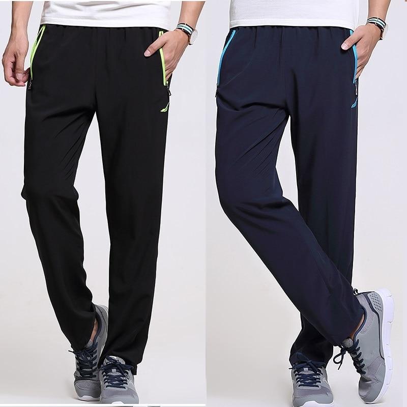 Pantalones de hombre Grandwish Workout Plus Size 6XL Hombres Pantalones de secado rápido Cintura elástica fuera de pantalones activos hombres transpirables, DA054