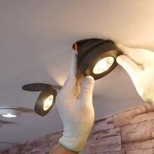 Новое поступление, ультратонкие потолочные светильники, встраиваемые светильники, 220 В, светодиодный, 360 градусов, функция вращения, светодиодный светильник