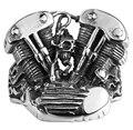 New Brand Men Rings Skull Head Ring Stainless Steel Jewelry Men Rings Drive Engine Harley Motor Heavy Metal Party Men Ring