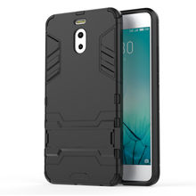 For Meizu M3 M5 M6 note case Rugged Impct Hybrid Armor Stand Holder Back Cover For Meizu MX5 MX6 pro 6 plus Iron Man Coque(China)