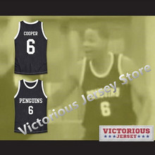 dc0ec3b98 Minanser Mark Cooper 6 Oakbridge Penguins High School Basketball Jersey Men( China)