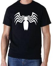 Venom 2 logo avengers marvel comics superhero kids t shirt new fashion mens short sleeve t-shirt cotton t shirts harajuku