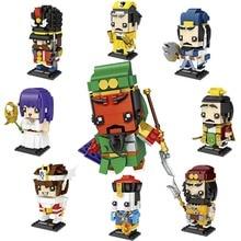 LOZ MiNI Blöcke Chinesischen Cartoon Charakter Gebäude Ziegel Saint Seiya Auktion Modell Spielzeug Mini Blöcke Kinder Geschenke 1453 1462