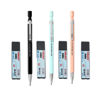 цена на M&G Automatic Pencil 2.0mm 2B Cute Plastic Mechanical Pencils Drafting For Kid School Office Supplies Send pencil lead