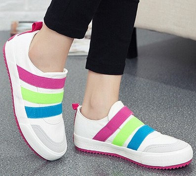 Brilliant Sale NeW 2016 Fashion Flat Women Trainers Breathable Sport Women Shoes