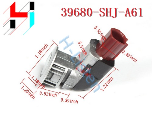1pc New Black PDC Back Up Parking Sensors 39680SHJA61 39680-SHJ-A61 Fit for Honda Odyssey 2005-2009 CRV 2004-2010 2011 2012 2013