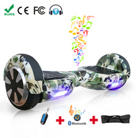 Hoverboard Two Wheels Electric Self Balancing Scooter Skateboard Drift Smart Balancing with Bluetooth and Bag Oversea Warehouse