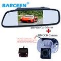Promoção Para 5 polegada digital Tft Lcd monitor de espelho de carro com câmera de visão traseira para Hyundai Verna Solaris Sedan
