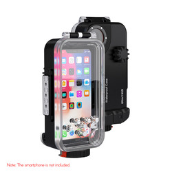 Ipx8 Waterproof Mobile Phone Case Diving Housing Case 60m/195ft Dustproof For Iphone X Photographic Accessories Full Sealed