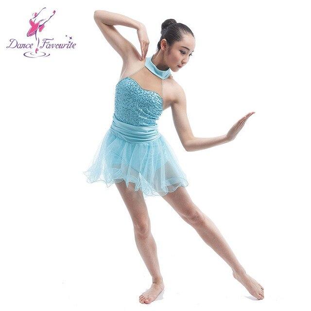 women Ballet Contemporary   Lyrica dress ballerina ballet dance costume  dress pale blue ballet dress girl dance ballet skirt bc4c7b6cd284