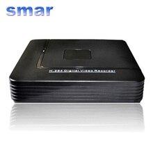Mini HD CCTV NVR 4CH Onvif H.264 de 8 Canales Grabador de Vídeo red DVR De 720 P 1080 P Cámara IP Sistema de Vigilancia Mejor Precio