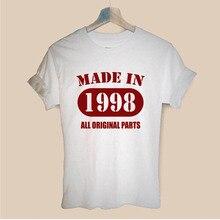 Made In 1998 All Original Parts Vintage Printed Harajuku T S