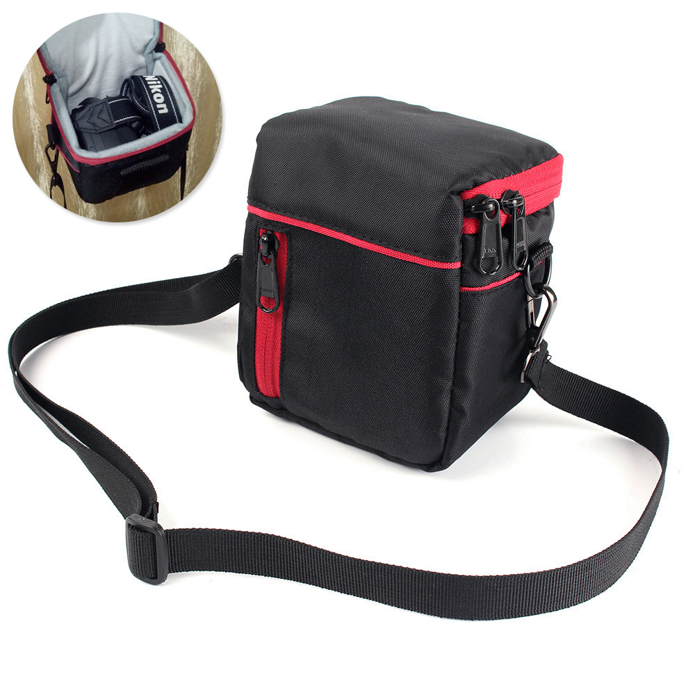 Camera Bag <font><b>Case</b></font> For Panasonic <font><b>LUMIX</b></font> <font><b>LX100</b></font> LX7 LX5 LX4 LX3 FZ2500 FZ2000 FZ1000 GX8 GF8 GF7 GF6 GF5 Outdoor Photography Bag image