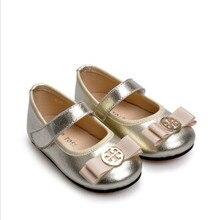201510 enfants en cuir bébé shoes enfant en peau de mouton en cuir infantile femelle princesse shoes toddler shoes filles shoes