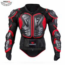WOSAWE motorcycle jackets MOTO Protection Jackets body armor clothing shoulder back guard support motocross men