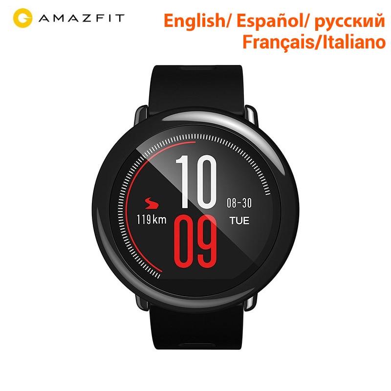 [Version anglaise] Huami Amazfit Rythme Smartwatch Amazfit montre intelligente bluetooth GPS Informations Push Coeur Taux Intelligente Moniteur