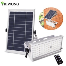 Powered-Lamp Spotlight Rremote-Control Leds Garden Solar Outdoor 1500lm Waterproof Wireless