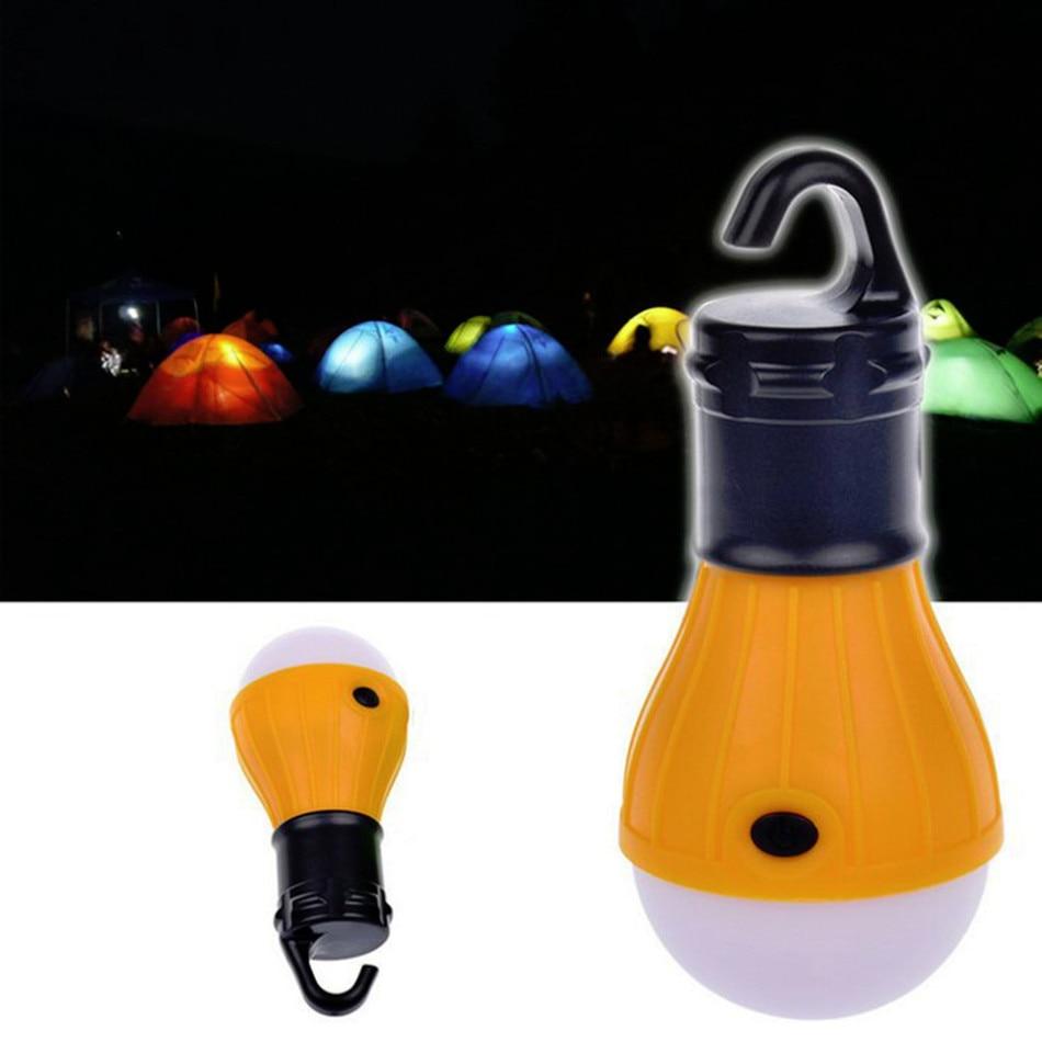 Yumuşak Işık Açık Asılı Taşınabilir LED Kamp Çadır Işık Ampul Balıkçılık Fener Lamba