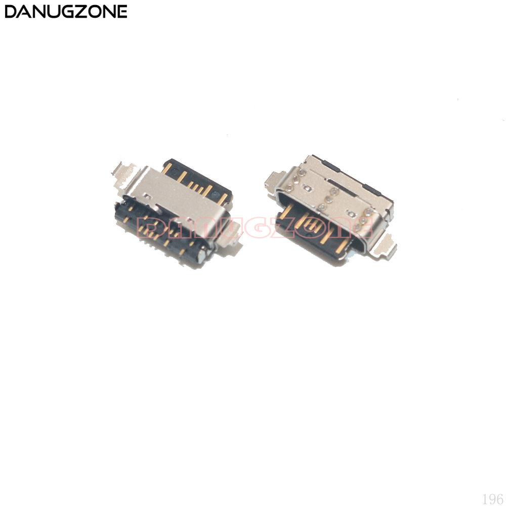 2PCS/Lot For Nokia 7 Plus TA-1046/1055/1062 / X6 TA-1083/1099/1103/1116 USB Charging Dock Connector Charge Port Jack Socket Plug