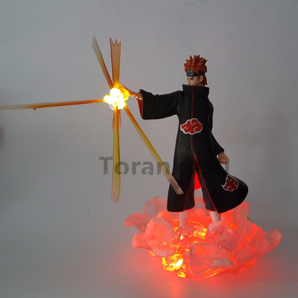 6X Anime Naruto Action Figure Toys Q Version Naruto PVC Figures Model Collection