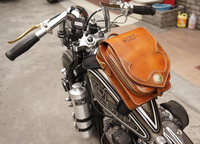Uglybros bag Harley Indian motorcycle motorcycle retro handmade cowhide magnet vintage leather tank bag motorcycle backpack