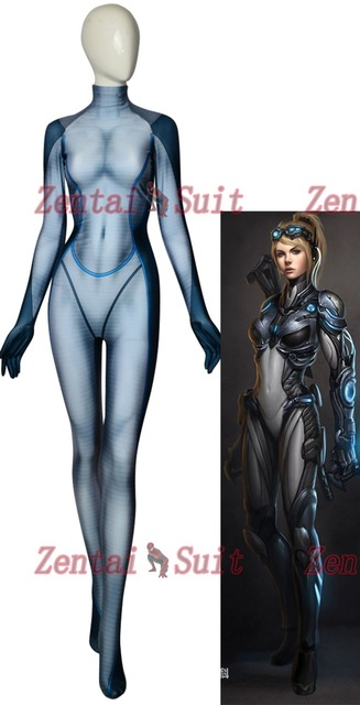 High Quality Custom Made 3D Print NOVA Cosplay Costume NOVA Lycra Spandex Suit Zentai Halloween Catsuit Free Shipping-in Anime Costumes from Novelty & Special Use    1