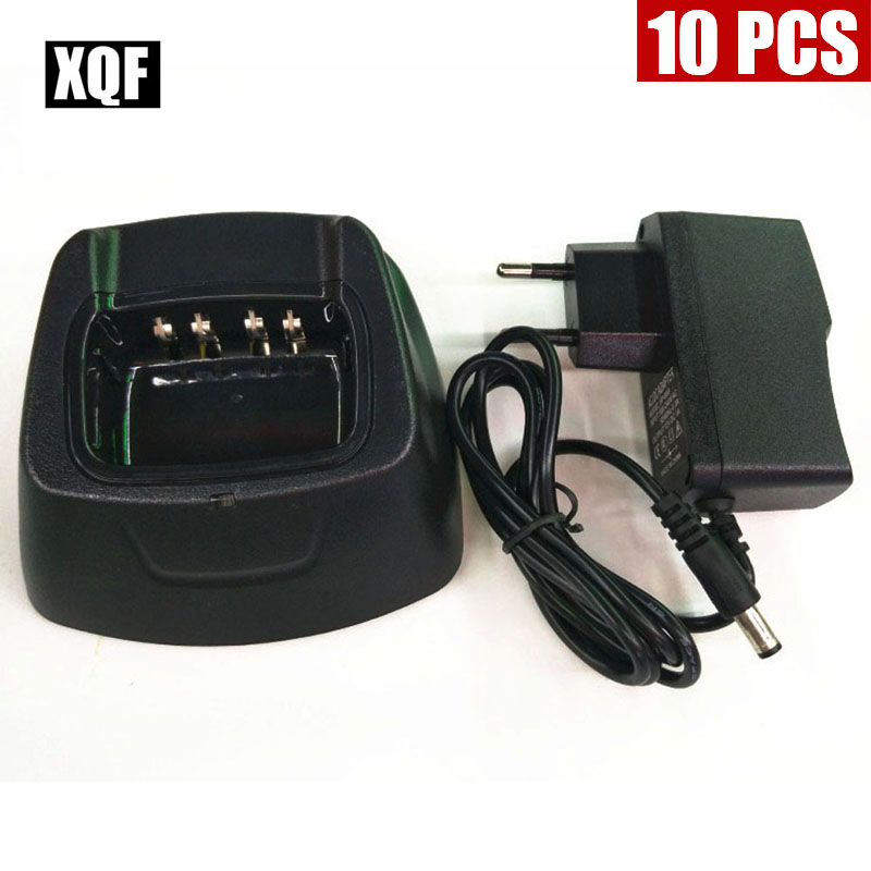 XQF 10PCS  Original Desktop Charger For Puxing PX-333 PX325 PX358 Radio