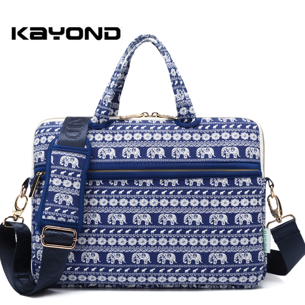 Kayong Laptop Handbag Notebook Shoulder Bag Computer Sleeve Bags Carrying Office Businessman Travel Preferred Men and Women