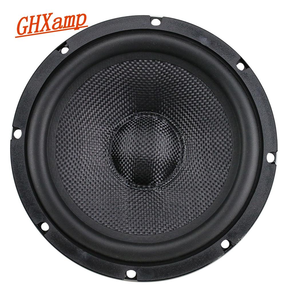 GHXAMP 6.5 Inch Car Full Range Bass Speaker Composite Woven Pot Midrange Woofer Loudspeaker Long Stroke Design Rubber 1PCGHXAMP 6.5 Inch Car Full Range Bass Speaker Composite Woven Pot Midrange Woofer Loudspeaker Long Stroke Design Rubber 1PC