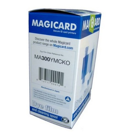 MA300YMCKO Full Color Ribbon 300 Prints for Magicard Enduro Card Printers,printer part,card printer ribbon