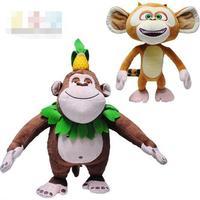 Candice guo giocattolo della peluche bambola di pezza animale sveglio del fumetto del anime orso brothers amico scimmia Scoiattolo regalo di compleanno di natale 1 pz