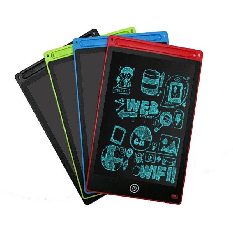 Portable Drawing Board Lcd Memo Pads Writing Tablets Erase Electronic Message Pad Office Notepad No Chalk Slate Kids Doodle Pad