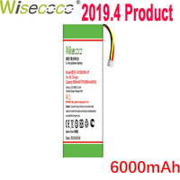 WISECOCO 6000mAh AEC982999 2P Battery For J BL Charge In Stock Latest Production High Quality Battery+Tracking Number