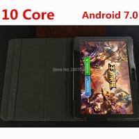 Entsperren 10 zoll 3G 4G FDD LTE Deca Core 4 GB RAM 128 GB ROM Dual SIM Android 7.0 OS 1920*1200 IPS GPS Kinder Geschenk Tablet PC