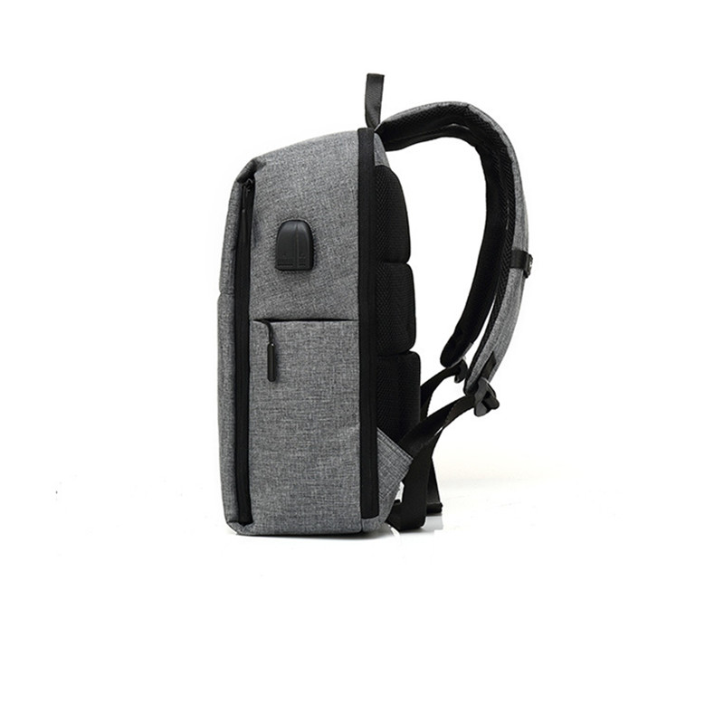 The New Anti-theft Backpack Smart Usb Dual Interface Charge Backpack Men's Business Waterproof Oxford Fabric Laptop Backpac #5