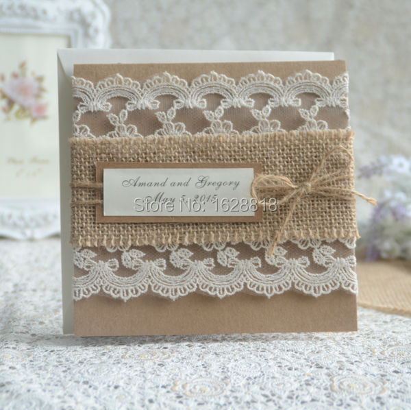 Good Quality And Gorgeous Design Wedding Cards Handwork Craft Paper