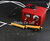 Free Shipping Professional Pyrography Machine Gourd 50W With 2pcs Cutter Pen 20pcs Blades 220 240V