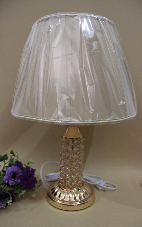 Романтический европейских роскоши кристалл настольная лампа современный Книги по искусству для Спальня Гостиная ночники