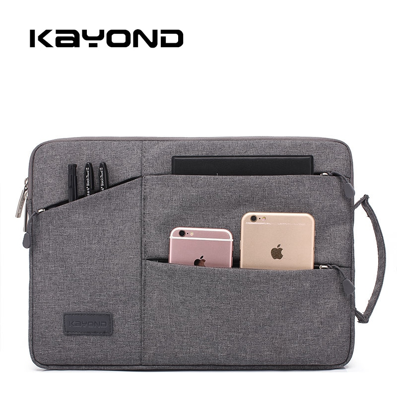все цены на Waterproof Laptop bag case for MacBook Air/Pro 11 12 13 15.4 Men's Bag for Lenovo 14 Notebook Bag 13.3 Inch Laptop Sleeve 2017
