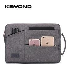Waterproof Laptop bag case for MacBook Air/Pro 11 12 13 15.4 Men's Bag for Lenovo 14 Notebook Bag 13.3 Inch Laptop Sleeve 2017