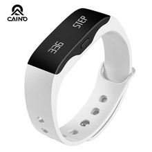 CAINO Brand Men Women Sport Watch L28t Outdoor Fitness Watches LED Display Call Reminder Digital Pedometer