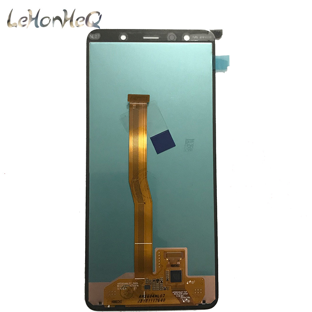 Image 3 - For Samsung Galaxy A7 A750 A750G SM A750F LCD Display Touch screen Digitizer Assembly For samsung A7 2018 A750 Original Display-in Mobile Phone LCD Screens from Cellphones & Telecommunications