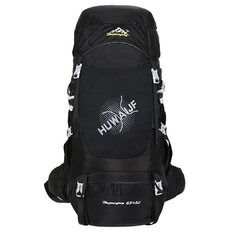 70L Водонепроницаемый нейлоновая сумка рюкзак противоударный дышащий рюкзак открытый альпинизм путешествия Спорт Кемпинг Пеший Туризм w/до...