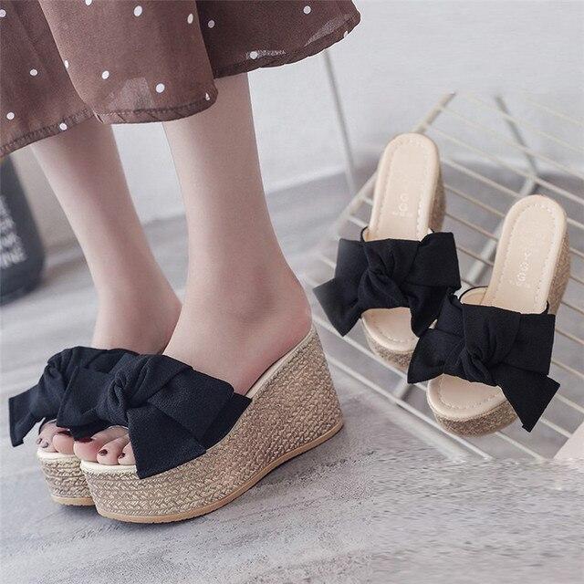 Alto Zapatos De Para Tacón VeranoPlataforma MujerPlanosSandalias TFlJK5u1c3