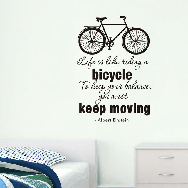 Keep Moving Inspiring Quote Vinyl Wall Sticker Home Decor For - Inspiring wall decals