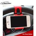 Volante Do Carro Universal Suporte para Telefone/GPS Livre Mão Stand Suporte Suporte Para Carro