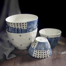 Тарелка столовая посуда костяного фарфора еда креативная глазурь под керамической посуды в форме супа Чаша Блюдо Салат чаша для риса